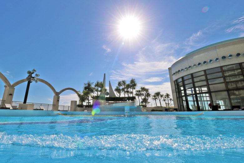 ロワジールホテルのプール