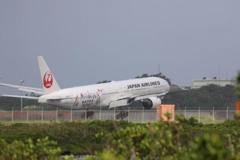 JAL那覇空港