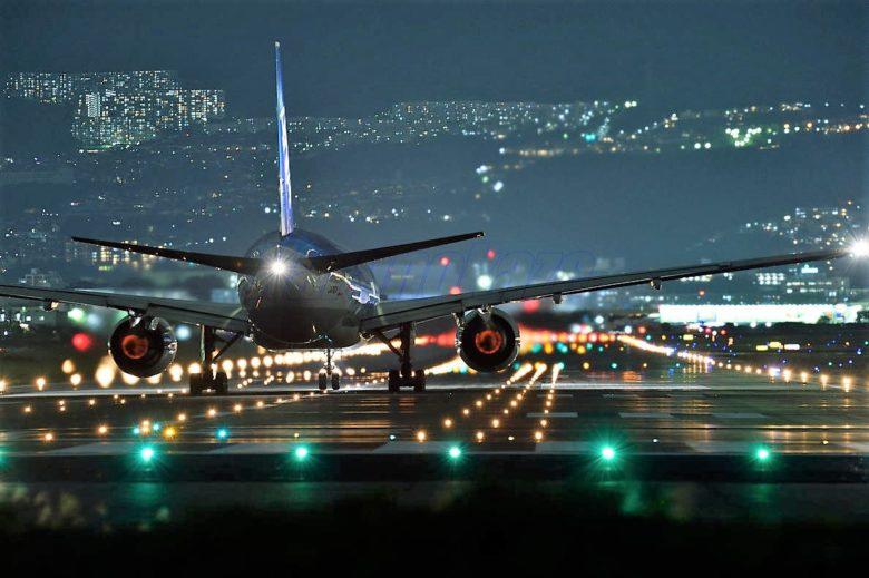 JAL沖縄行き深夜便