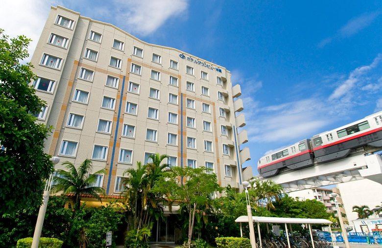 ホテルグランビュー沖縄は赤嶺駅前でエアーフェスタ会場まですぐ