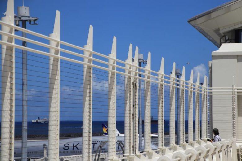 那覇空港で飛行機を見るなら展望デッキ