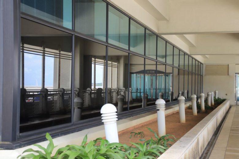 那覇空港で飛行機を見るなら国際線から