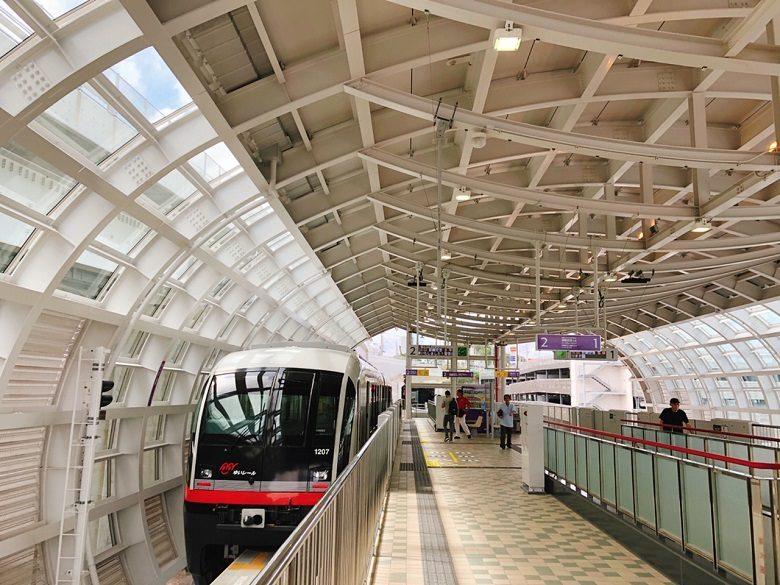 ゆいレール延長区間㊗開業てだこ浦西駅が最終駅