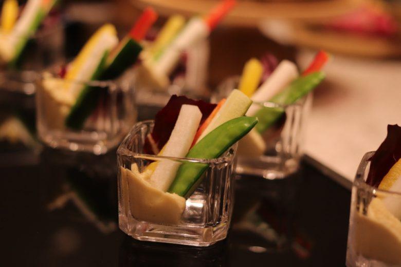 クラブインターコンチネンタルラウンジの前菜の種類がたくさんあります。