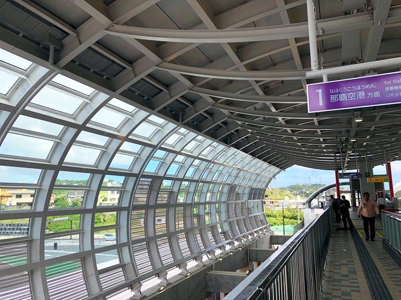 ゆいレール延長区間㊗開業てだこ浦西駅