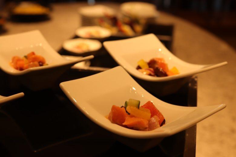 ANAインターコンチネンタル万座ビーチリゾートの前菜です。