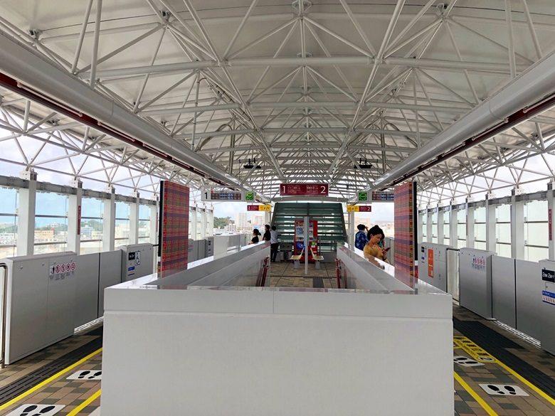 ゆいレール延長区間開業で石嶺駅