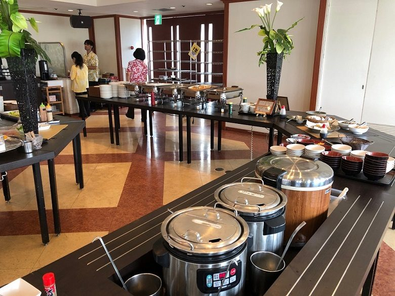 那覇でホテル朝食なら南西観光ホテルのバイキング