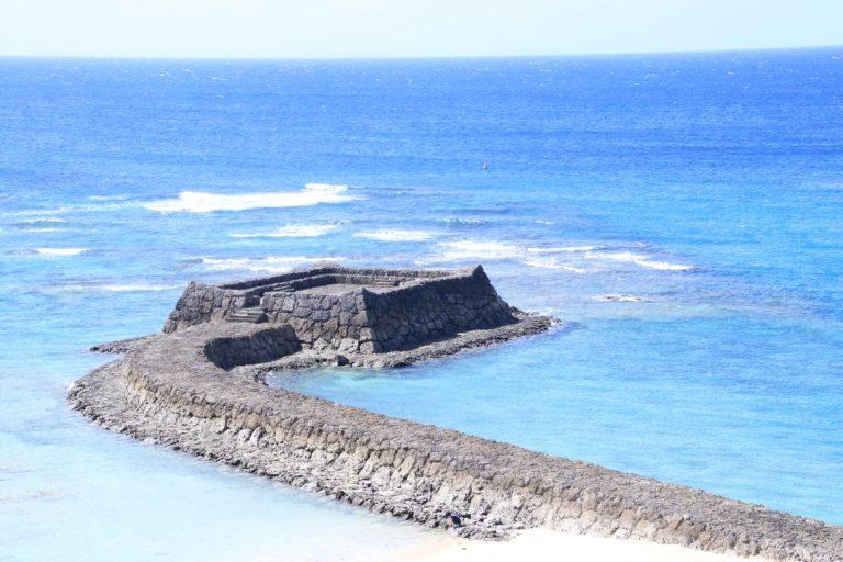読谷の不思議な写真映えスポット「三重城」は日航アリビラの近く