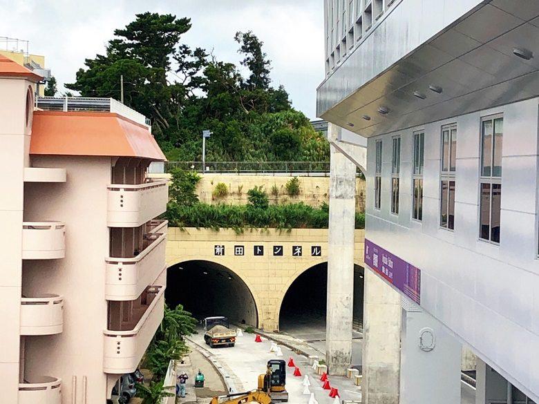 ゆいレール延長区間㊗開業で前田トンネル