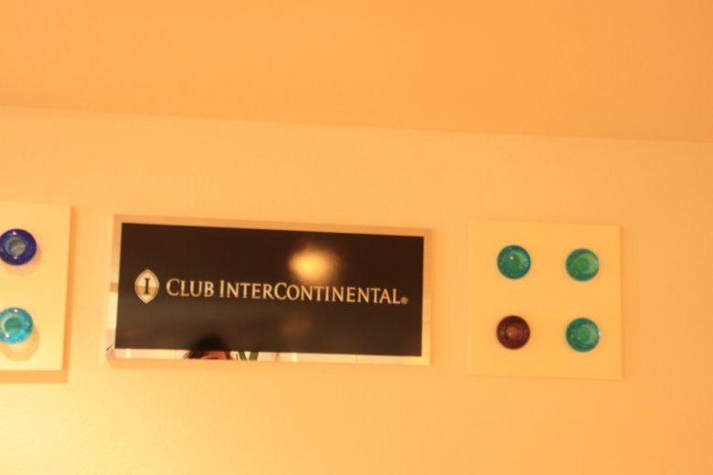 クラブインターコンチネンタルの部屋に入るプレート