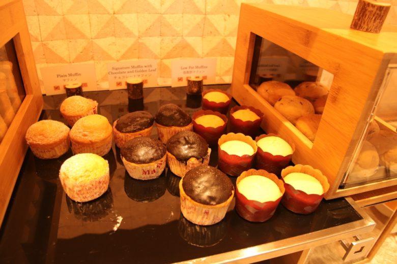 ANAインターコンチネンタル万座ビーチリゾートの朝食会場のパン