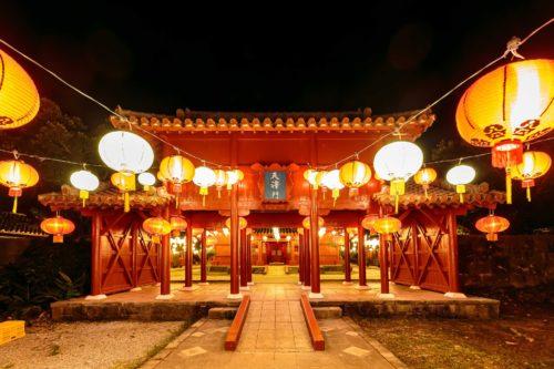 読谷村のむら咲むらで楽しむ「琉球ランタンフェスティバル2020-2021」