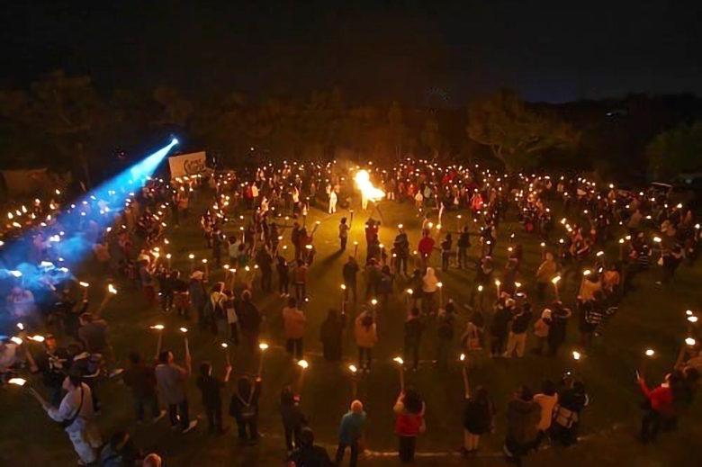 大晦日の平和の祭り