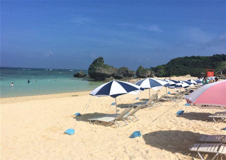 ニライビーチは読谷村ホテル日航