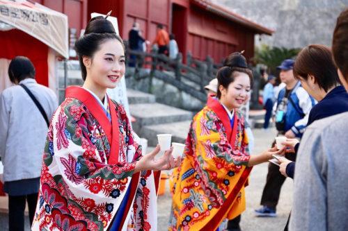 首里城で迎える初春の慶び!首里城復興へ「新春の宴」開催!