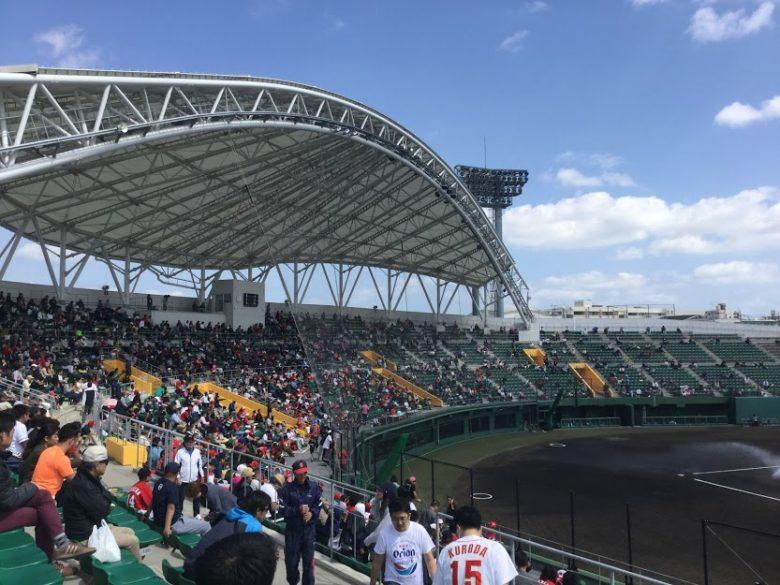 広島カープが使用するコザ信金スタジアム