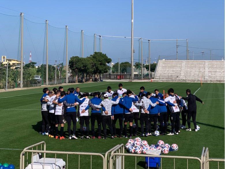 FC琉球春季キャンプ