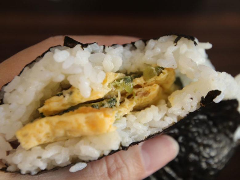 沖縄のコンビニおにぎりスパム食べ比べ
