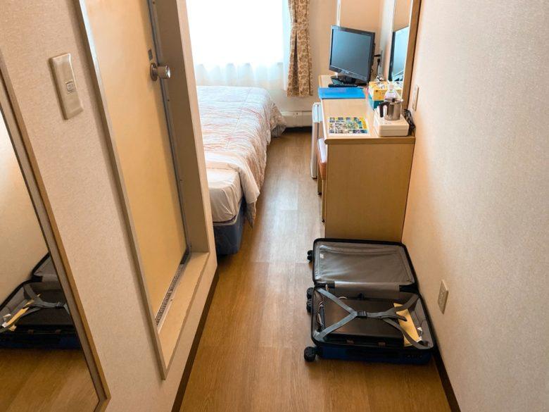 那覇空港から近いホテルパークスタジアム那覇の室内