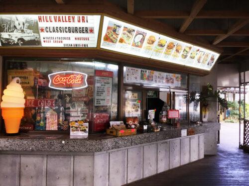 道の駅「ゆいゆい国頭」で、猪豚とヒージャーバーガーを食らう!