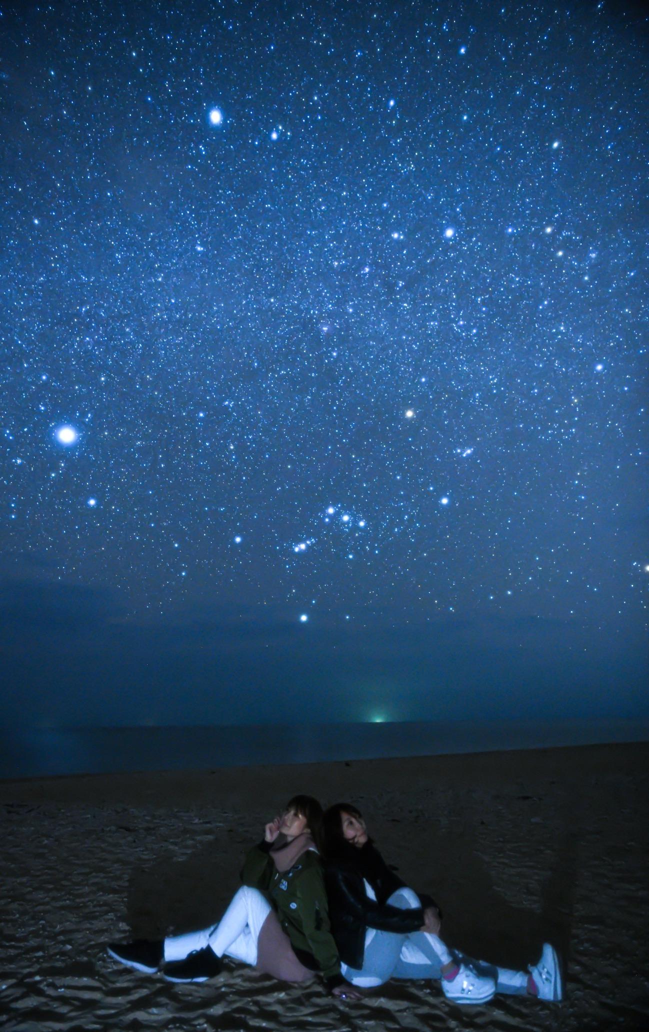 星空撮影久米島