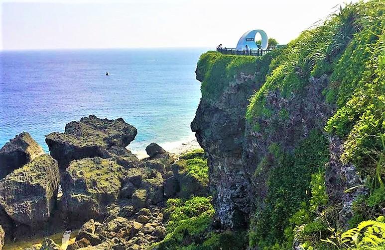 沖縄本島南端の絶景ポイント「喜屋武岬」