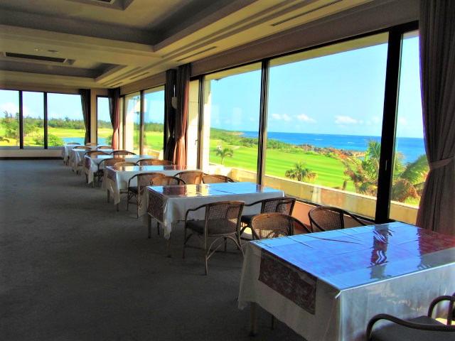 宮古島のゴル場レストラン