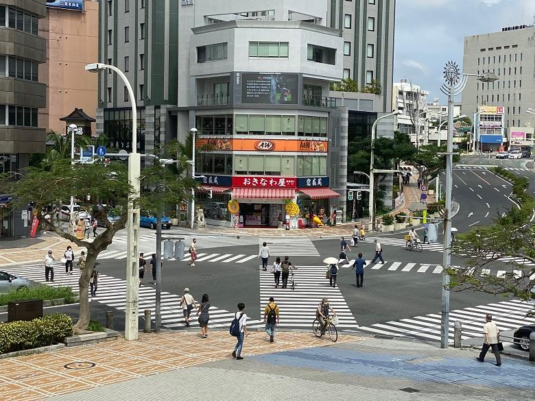 国際通りの入り口