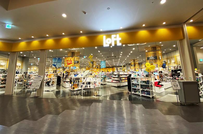 新しいショッピングモールイーアス沖縄豊崎に初出店ロフト