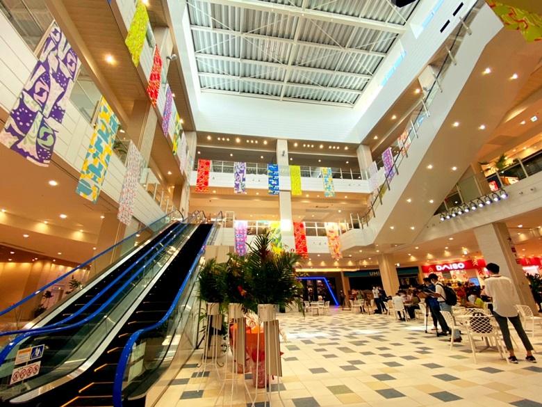 豊見城の新しいショッピングモール