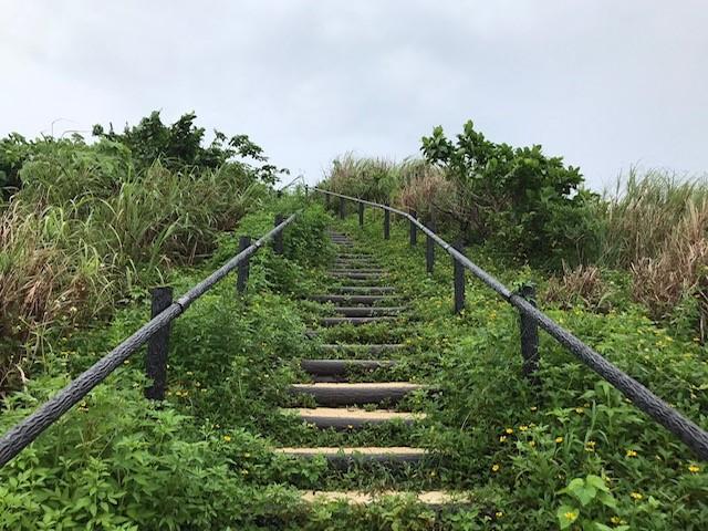 小浜島絶景への階段
