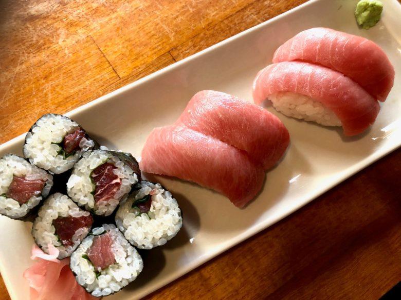マグロ居酒屋ひとしの寿司セット