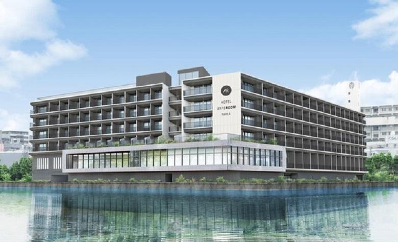 泊大橋のすぐ横に新しく出来たホテルアンテルーム那覇