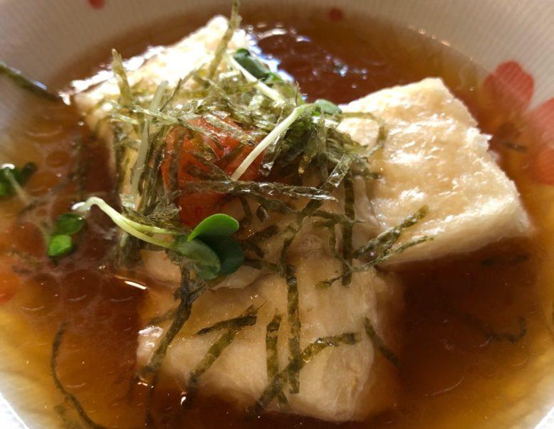 石垣島のマグロ居酒屋ひとし揚げ出し豆腐