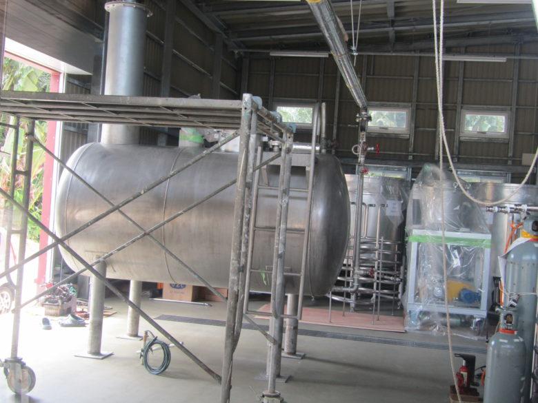 咲元酒造の蒸留器