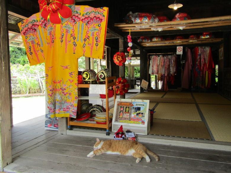 琉球衣装が楽しめる琉球村島袋家