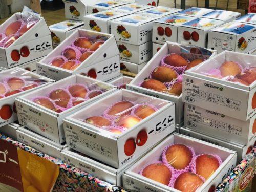 名護「はい菜!やんばる市場」今が旬のフルーツフェア!
