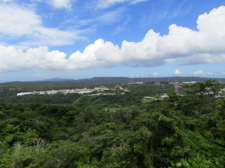 世界遺産座喜味城からの眺望