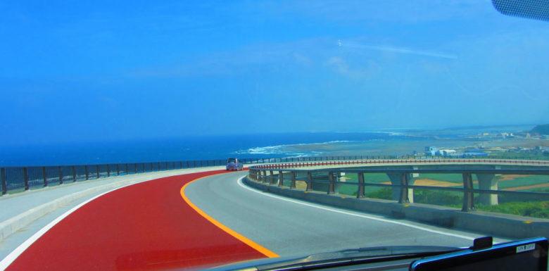 久米島の2連橋