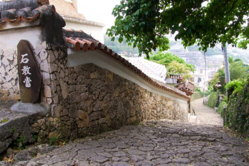 首里金城町の石畳は琉球王国時代の歴史を感じる散歩道