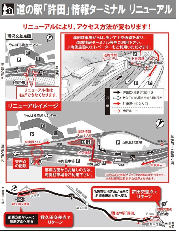 道の駅許田情報ターミナルリニューアル