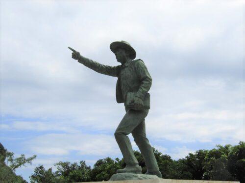 ジョン万次郎が沖縄上陸した糸満市大度海岸