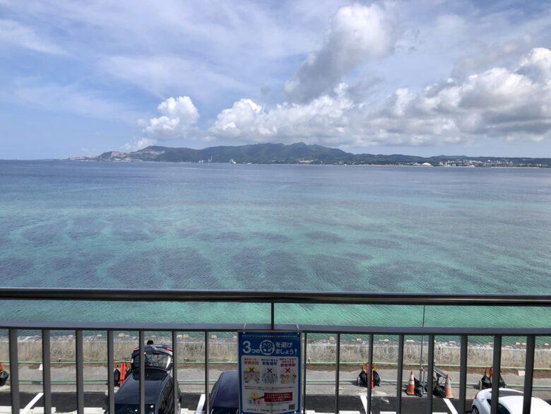 道の駅許田からの名護湾
